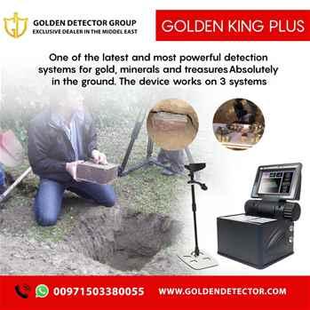 New metal detector Golden king plus