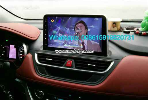 JAC Refine S3 2017 audio radio Car android wifi GPS navigation camera