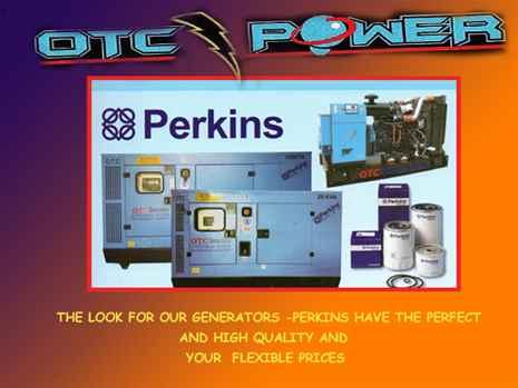 OTC POWER - Supply for generators