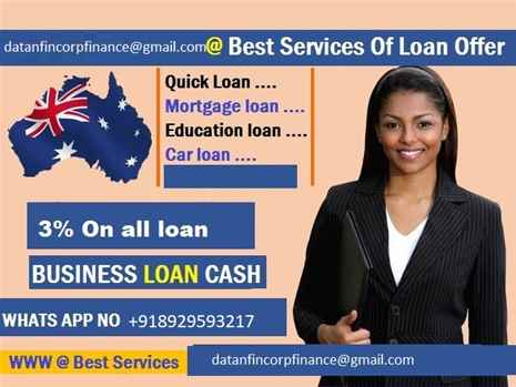 QUICK AND AFFORDABLE LOAN OFFER AT CHEAP RATE OF 3